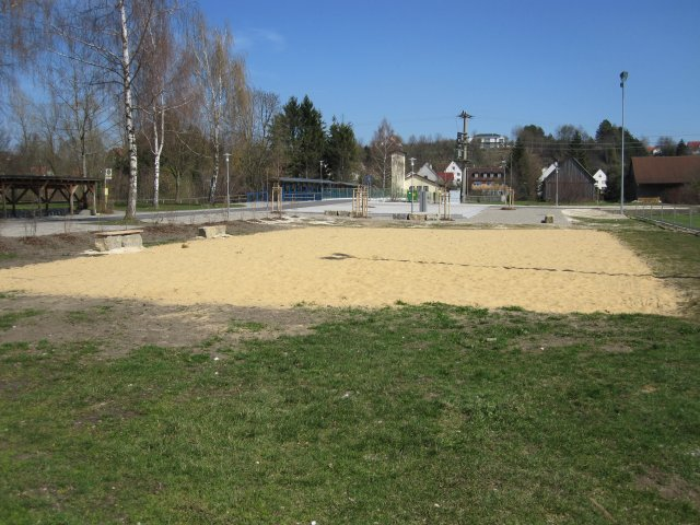 Beachvolleyball Platz